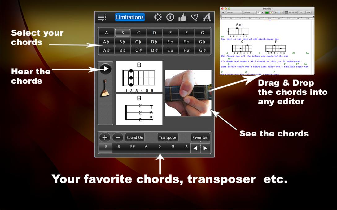 Balalaika Chords Lite – Learn Chords With Photos For FREE !