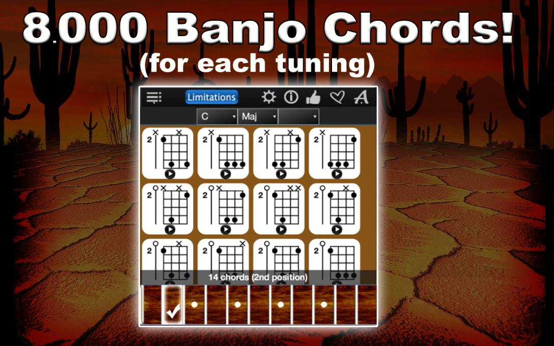 Banjo Chords Compass Lite – Find & Learn The Chords For FREE !