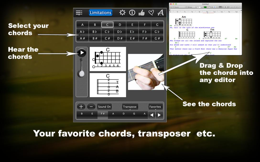 Banjo Chords Lite – Learn How To Play Chords With Photos For FREE