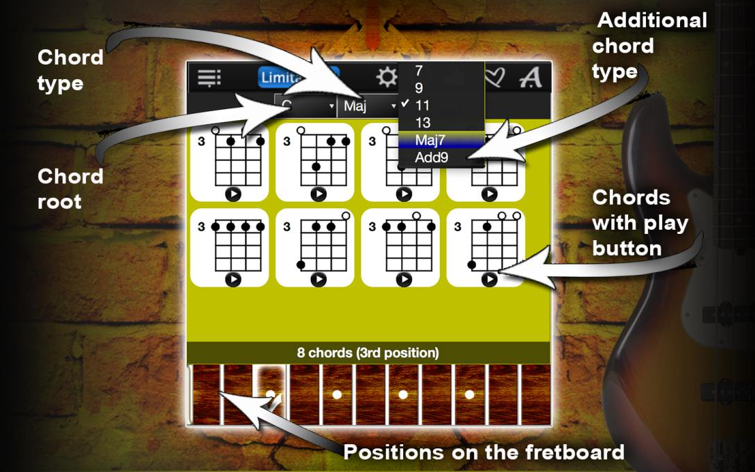 Bass Chords Compass Lite