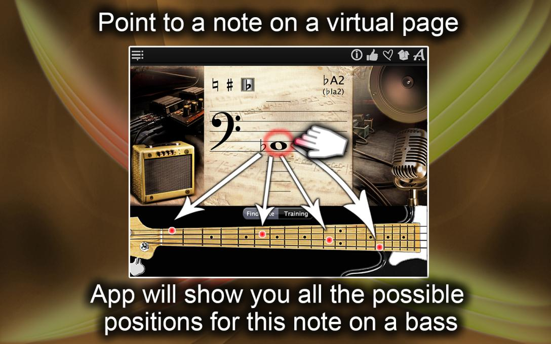 Bass Notes Finder