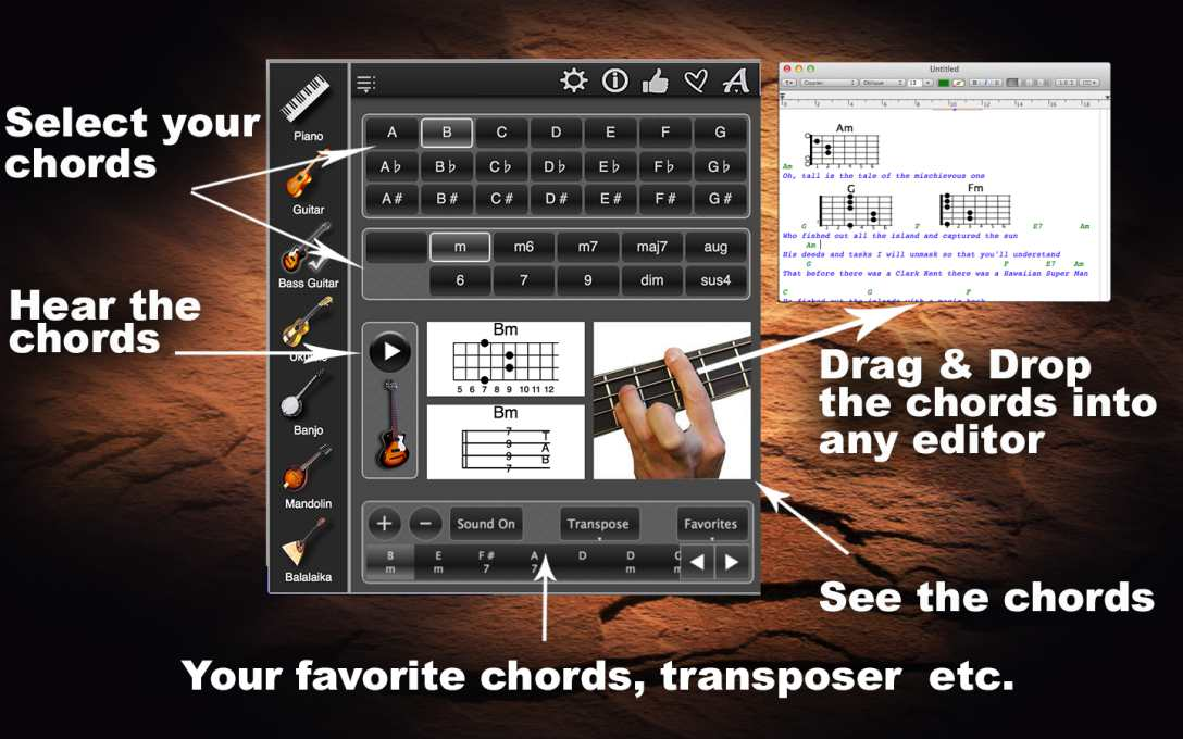Chords Maestro – Learn & Play The Chords With Photos !