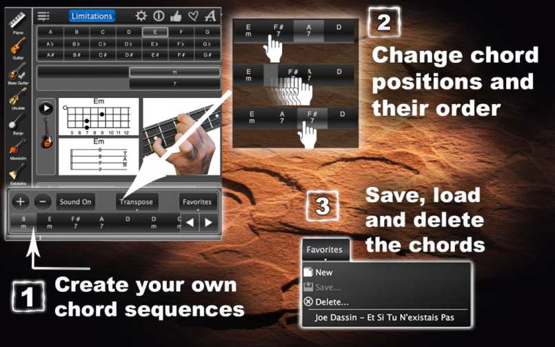 Chords Maestro Free – Chord Finder & Learning App !