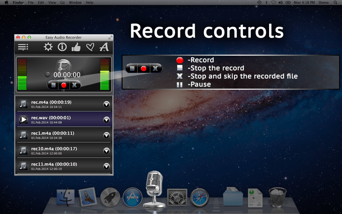 Easy Audio Recorder – Record Music & Your Voice On Computer