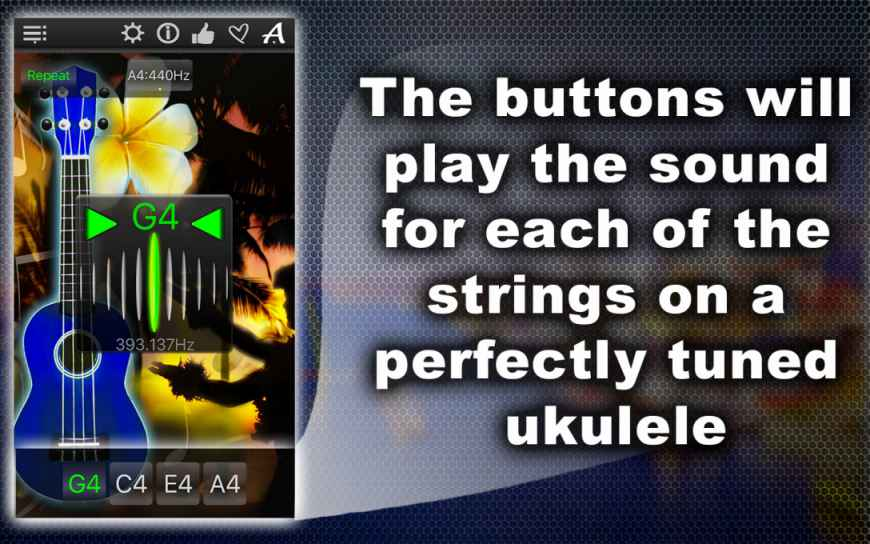 Easy Ukulele Tuner – Tune Your Music Instrument Fast & Precisely