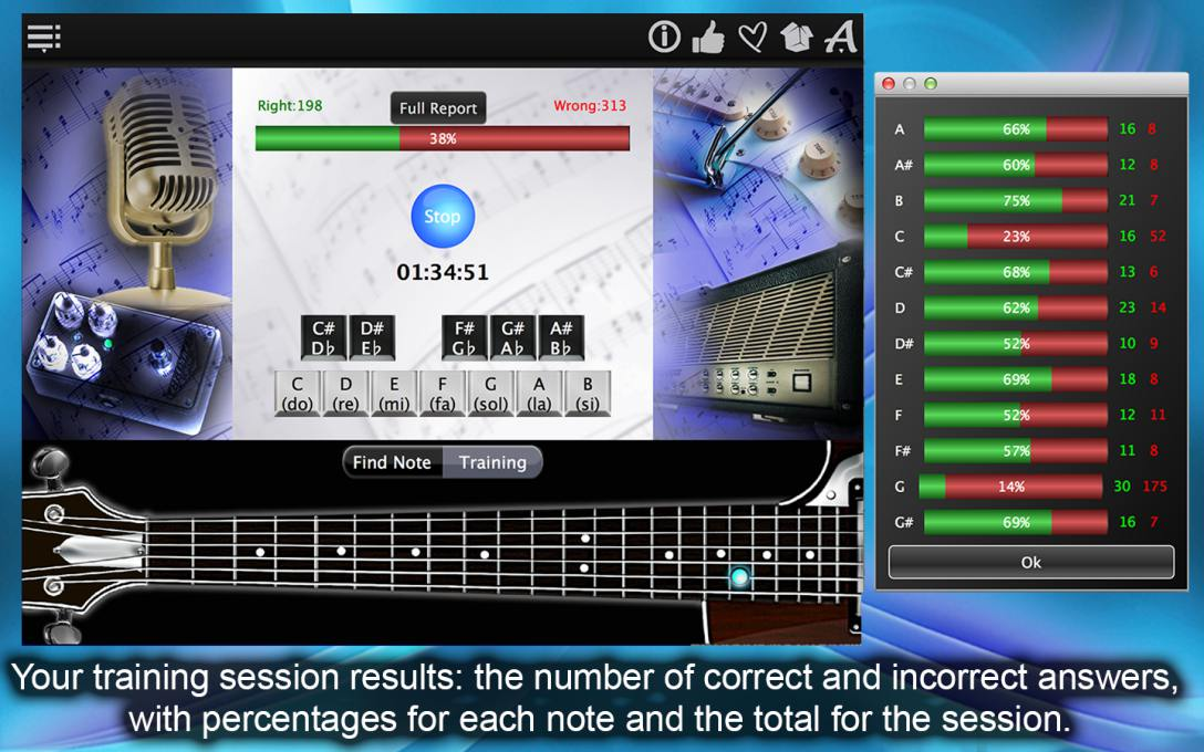 Guitar Notes Finder – Learn & Find All Music Notes On The Guitar Fretboard