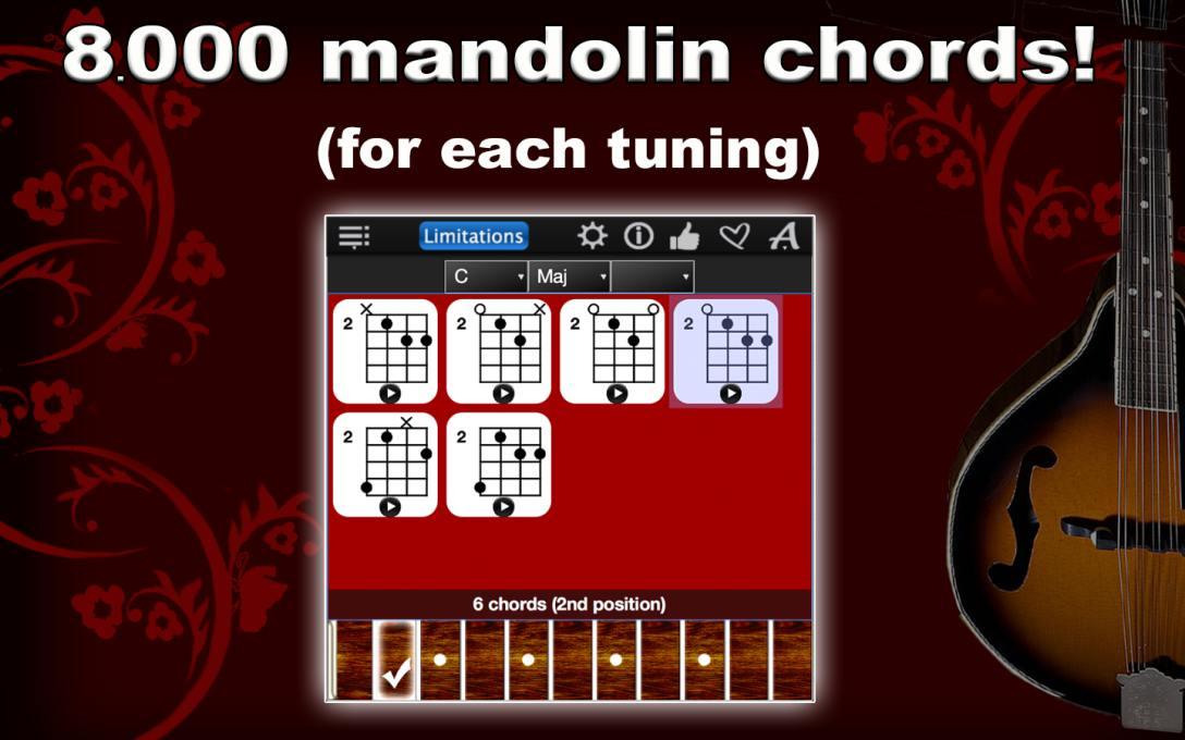 Mandolin Chords Compass Lite