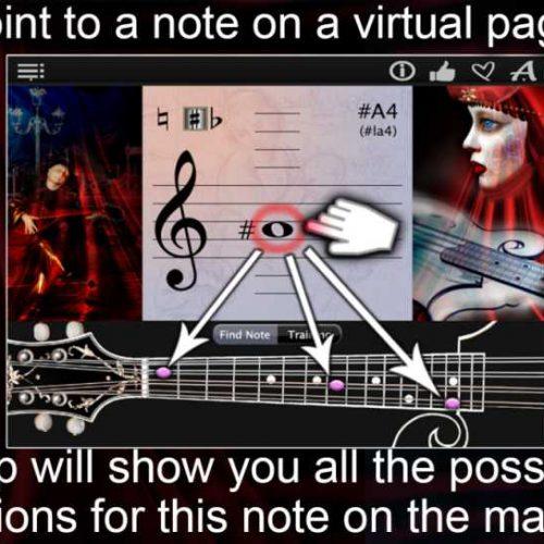 Mandolin Notes Finder