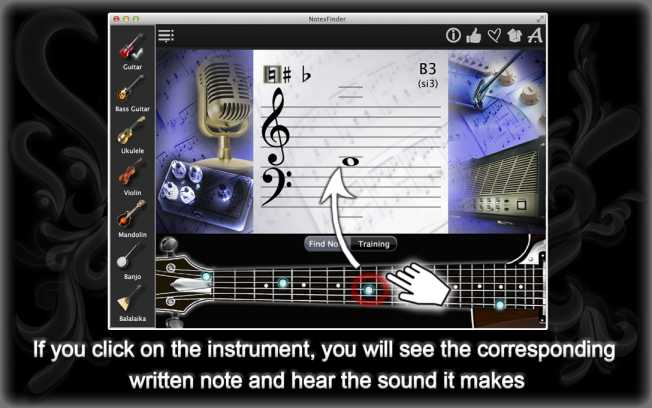 Notes Finder – Improve Your Note-Reading Skills !