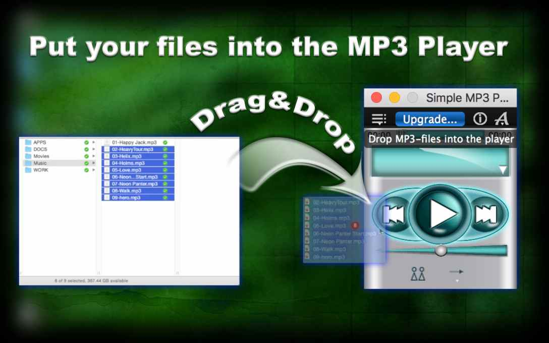 Simple MP3 Player Lite – Play & Listen To Music Files