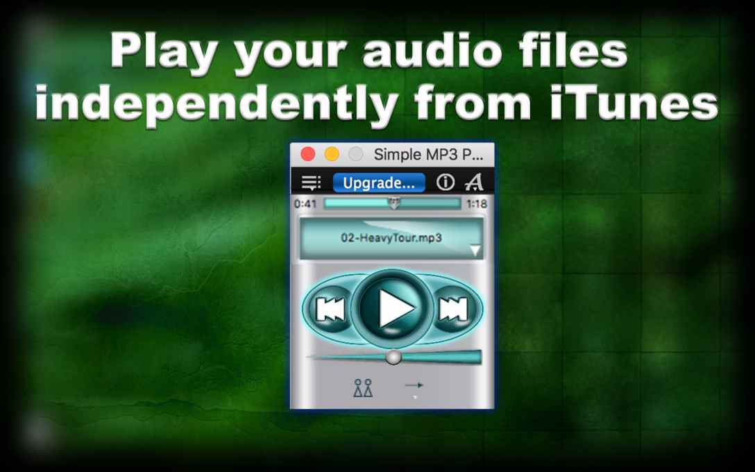 Simple MP3 Player Lite – Play & Listen To Music Files !