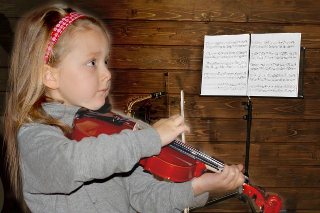 The use of violin for children