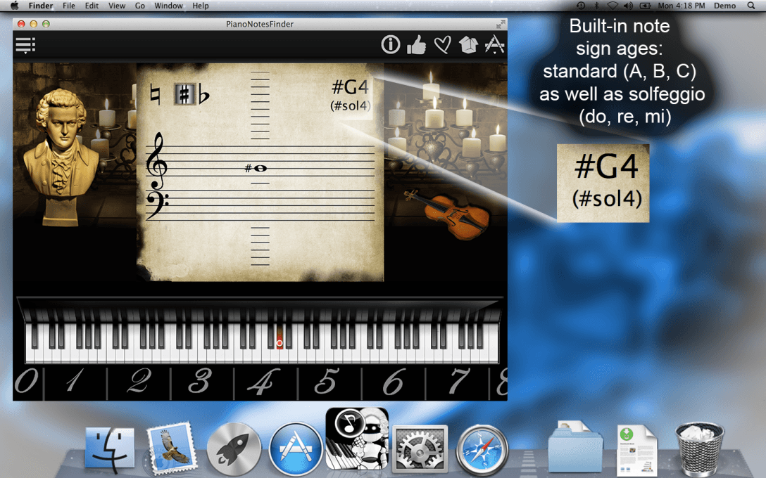 Piano Notes Finder – Find All Music Notes !