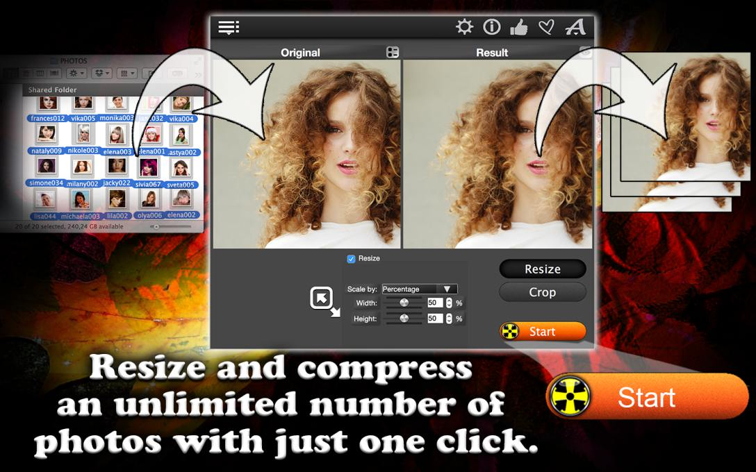 Total Resizer – Resize All Photos At Once