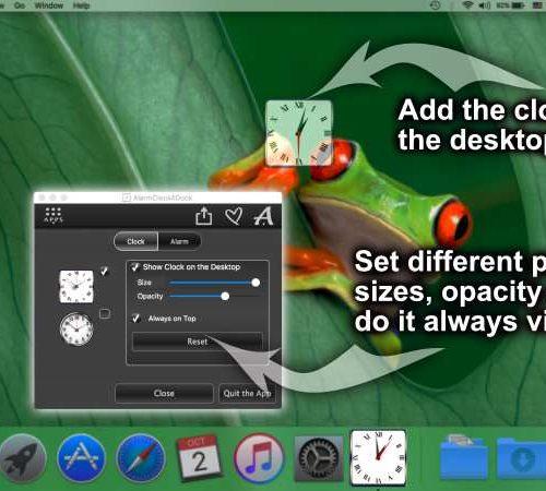 Alarm Clock for Dock – Set alarms on Mac and Windows