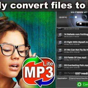 Easy MP3 Converter Lite Screen
