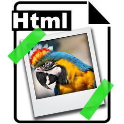 Image 2 Html – embed photo to website & email