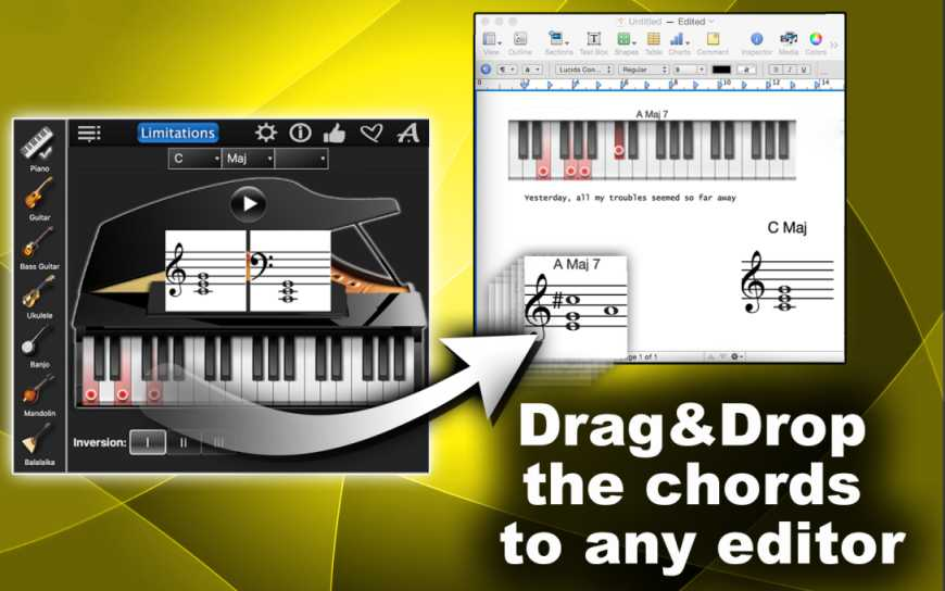 Chords Compass Lite – Find Piano, Guitar Chords & More!