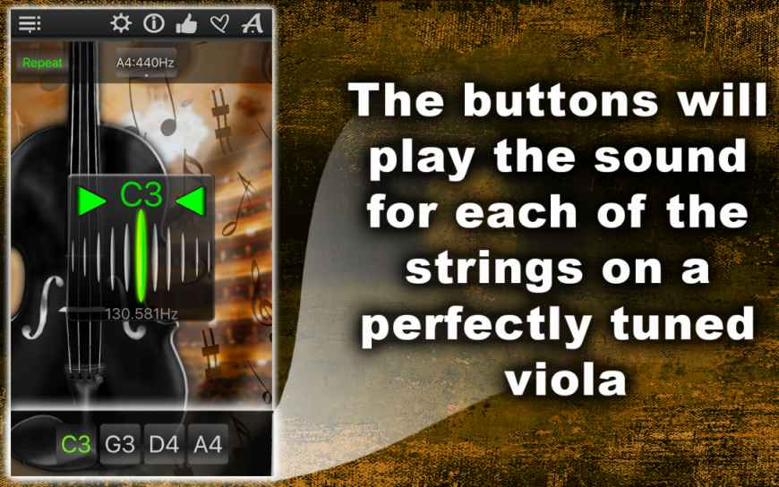 Easy Viola Tuner – Tune Your Music Instrument Fast & Precisely