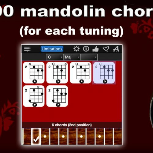 Mandolin Chords Compass Lite – Play & Learn All Chords For FREE !