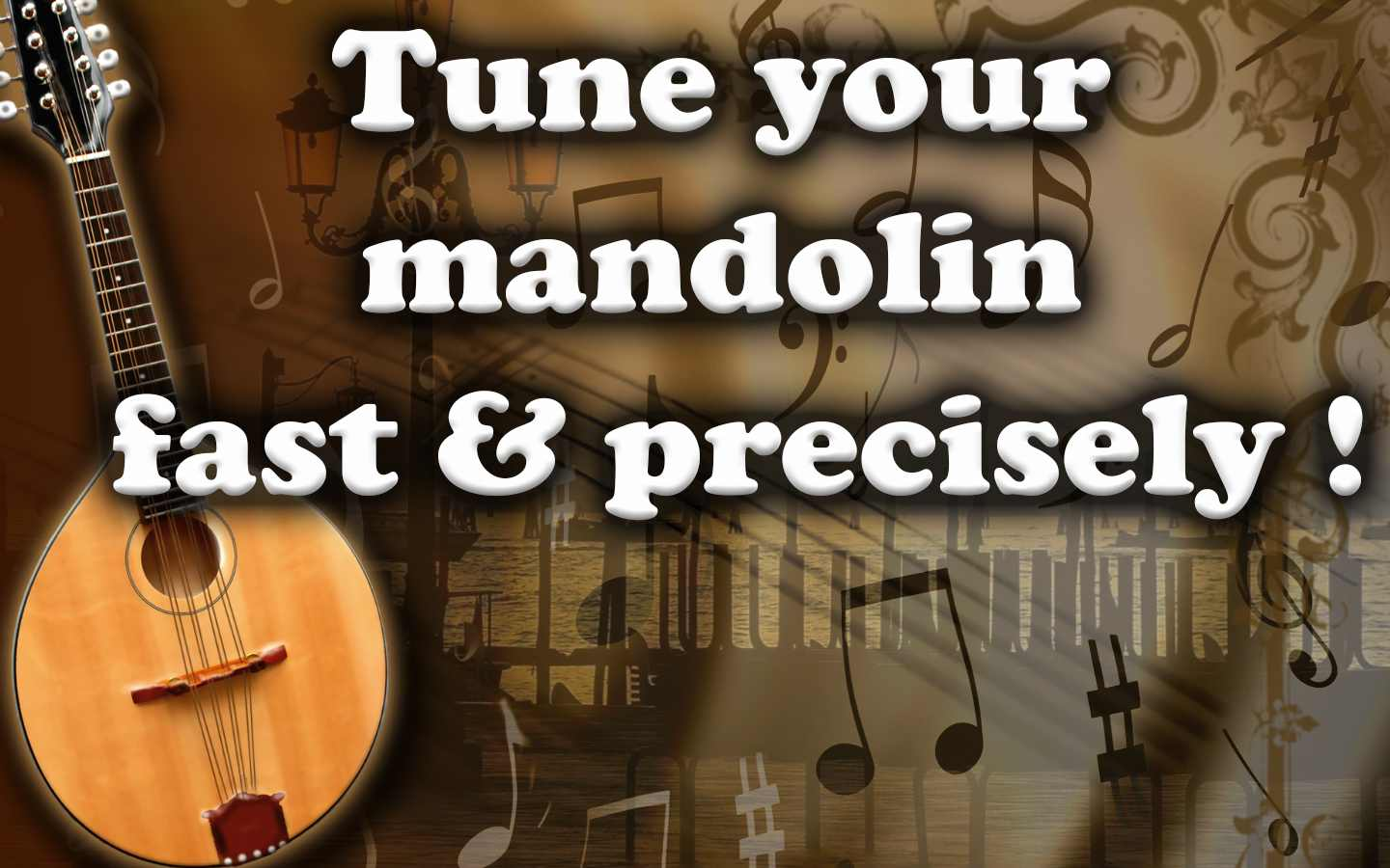 Mandolin Tuner – Tune Your Music Instrument Fast & Precisely
