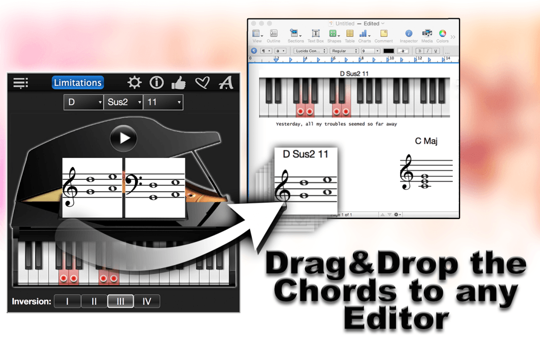 Piano Chords Compass Lite – Find & Play All Chords