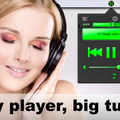 Tray Player – Tiny Player, Big Tunes !