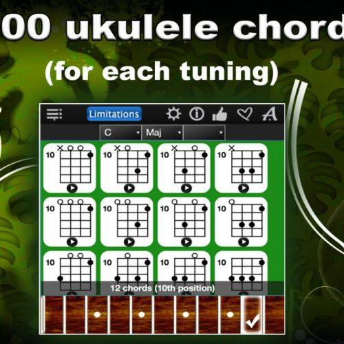 Ukulele Chords Compass Lite – Find & Learn All Ukulele Chords !