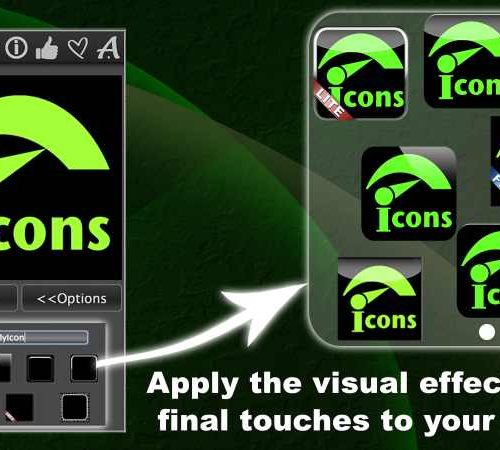 Quick Icons Lite – Create Icons, Logos for Apps & Web Sites