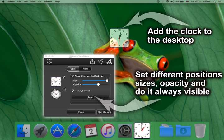 Alarm Clock for Dock – Set alarms on Mac and Windows
